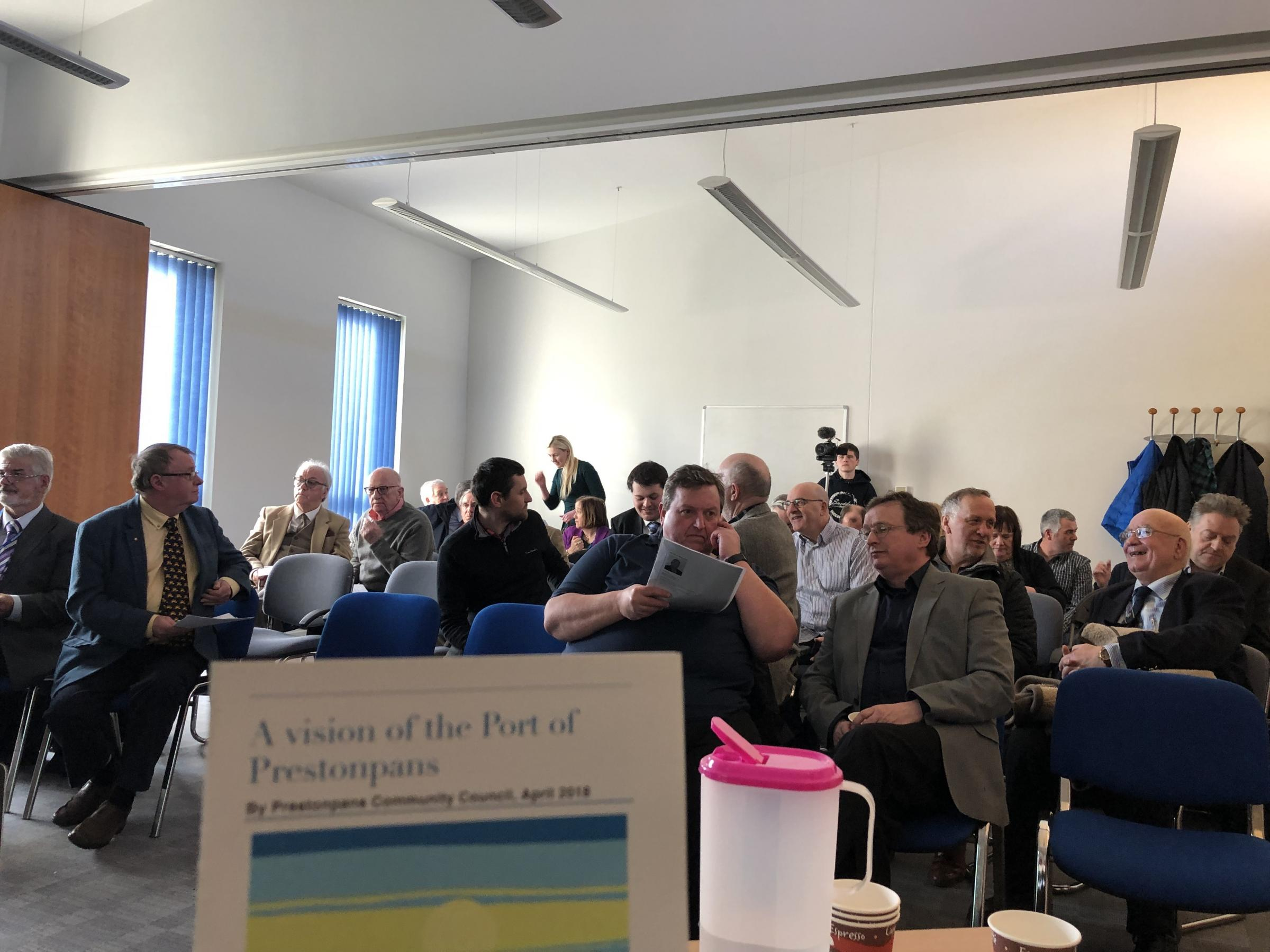 A conference on the Port of Prestonpans was held in the town