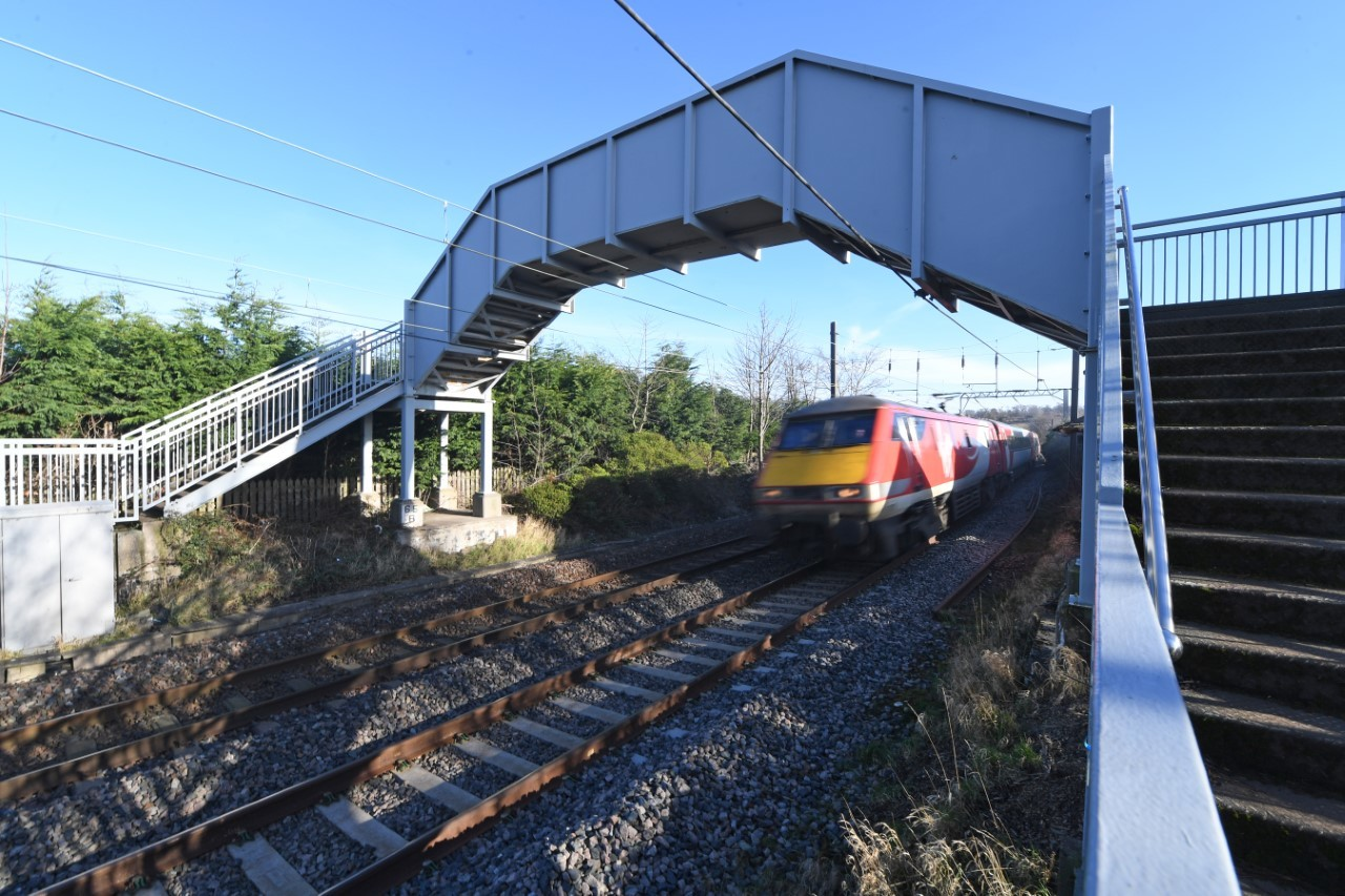 Plans for a railway station in East Linton remain on track according to the Scottish Government