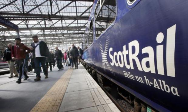Trains in East Lothian are affected by the problem