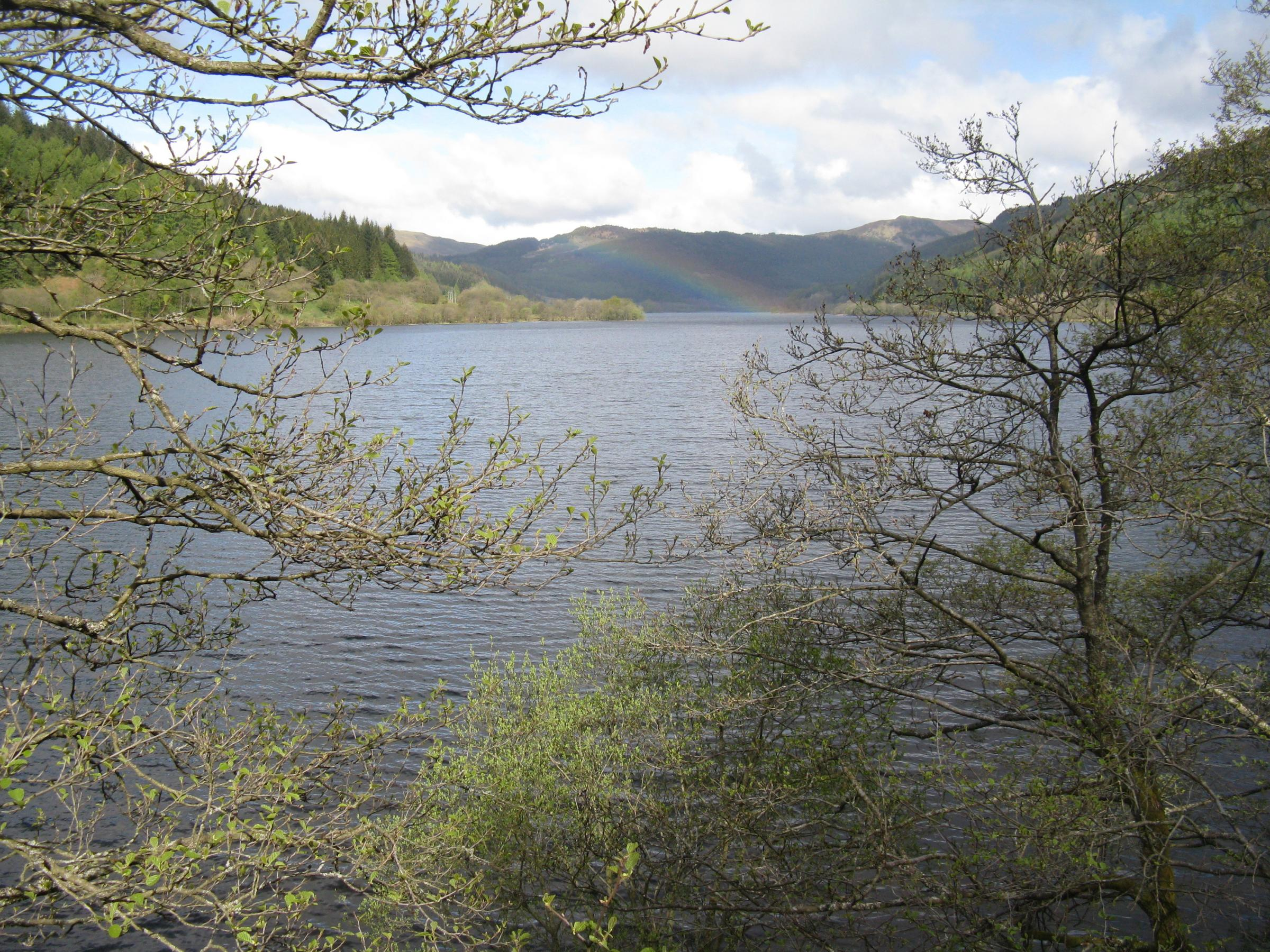 Loch Lubnaig. Image M J Richardson and licensed for reuse under Creative Commons Licence