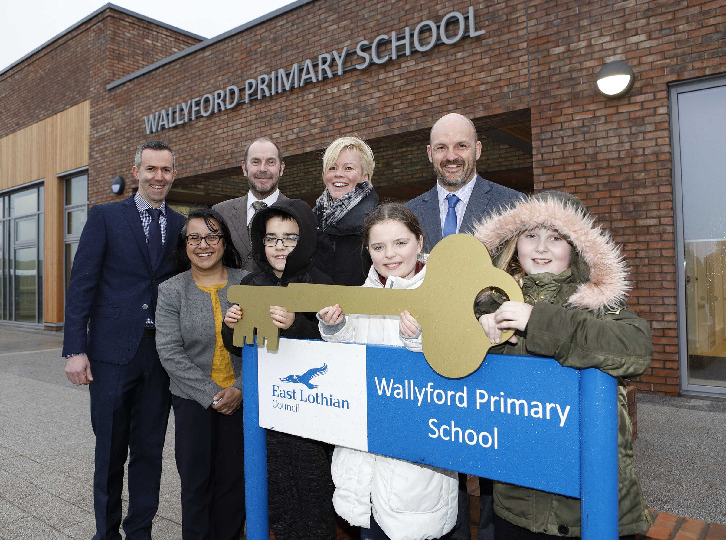 Pupils about to start life at new Wallyford Primary School