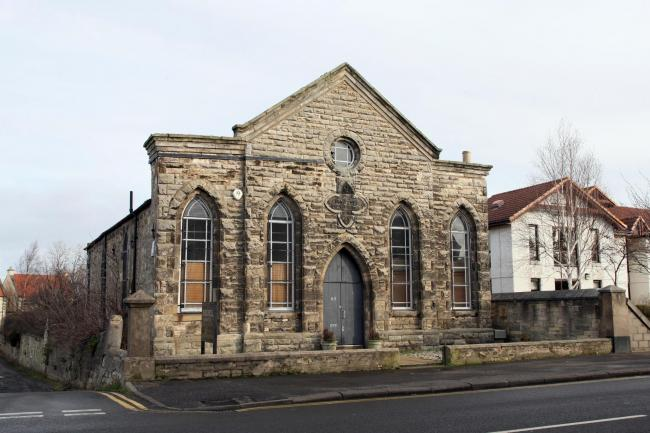 The former Tranent Methodist Church