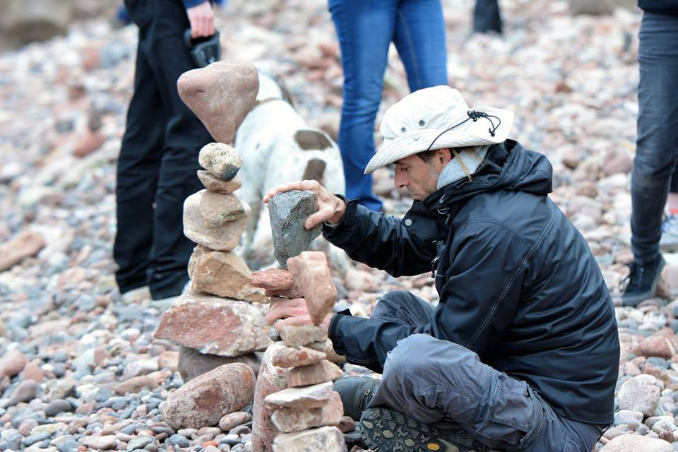 The European Stone Stacking Championship will return to Dunbar in April