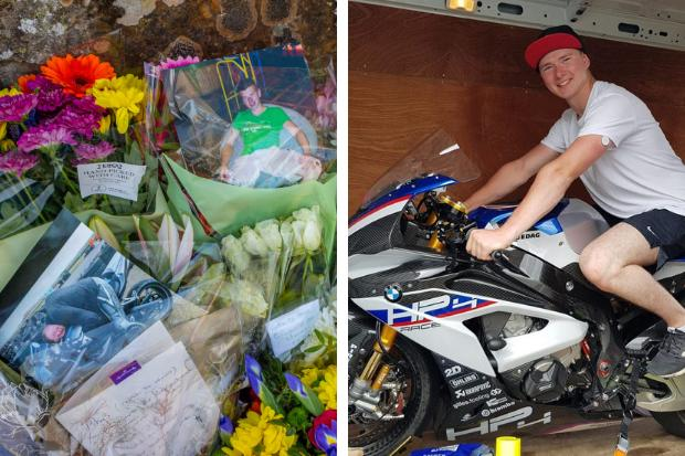 Ride like the wind, Rhys' - tributes to biker killed in