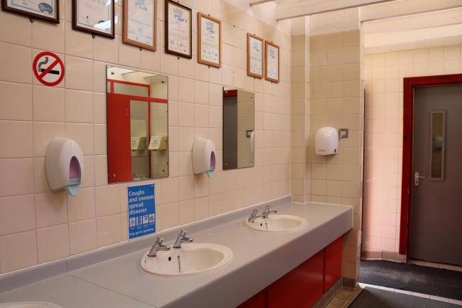 A suggestion has been made of charging at public toilets, such as this one in Haddington